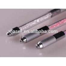 Caneta de tatuagem de sobrancelha de alta qualidade para microblading maquiagem permanente, manual bordado microblading ferramentas manuais