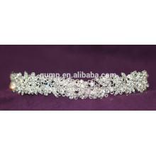 Мини-скидка моды пользовательских Свадебная тиара блестящей Crystal Bridal короны