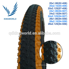 Super durable coloured mountain bike tires for wholesale
