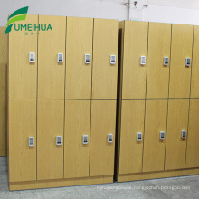 Shopping mall rfid lock staff high pressure laminate lockers cabinet