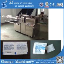 Máquina de empacotamento médica dos cotonetes do álcool de Copan do costume 70 da série de Ywj