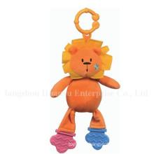 Fábrica de suministros de bebé relleno de peluche Teether juguetes