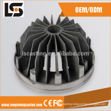 Downlight aluminium led lamp housing with heatsink cover