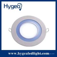 Panneau d'éclairage LED à LED ronde à haute luminosité à haute luminosité