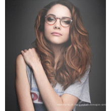 2017 BEST SELLER Lady acetato óptico glasse e óculos