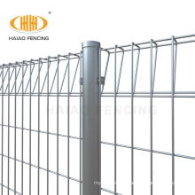 Garden galvanized roll top triangle bending BRC welded wire mesh fence panels price for malaysia