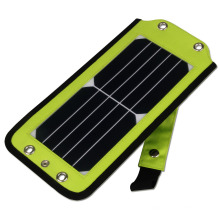 Full Certified New Process Foldable High Quality 5.5W Chargeur de panneau solaire