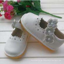 Sliver Flower White Kinder Mädchen Schuhe Soft Schuhe