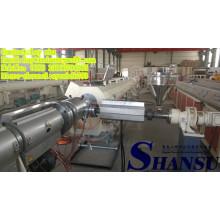 75-250mm Kunststoff PE HDPE PVC Rohr Maschinen