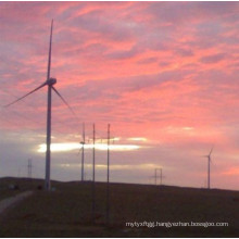 Galvanized Wind Power Distribution Generator Steel Pole