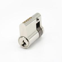 European Profile Brass Open Door Lock Core Cylinder