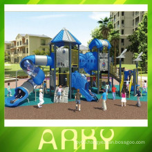 2015 double color nature kids adventure outdoor playground equipment