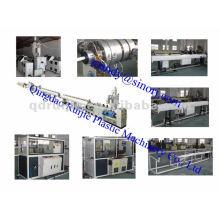 HDPE tubería plástico máquina extrusora