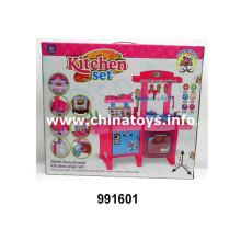 Juguetes de plástico de juguete de la cocina de la fruta del bebé de la combinación (991601)