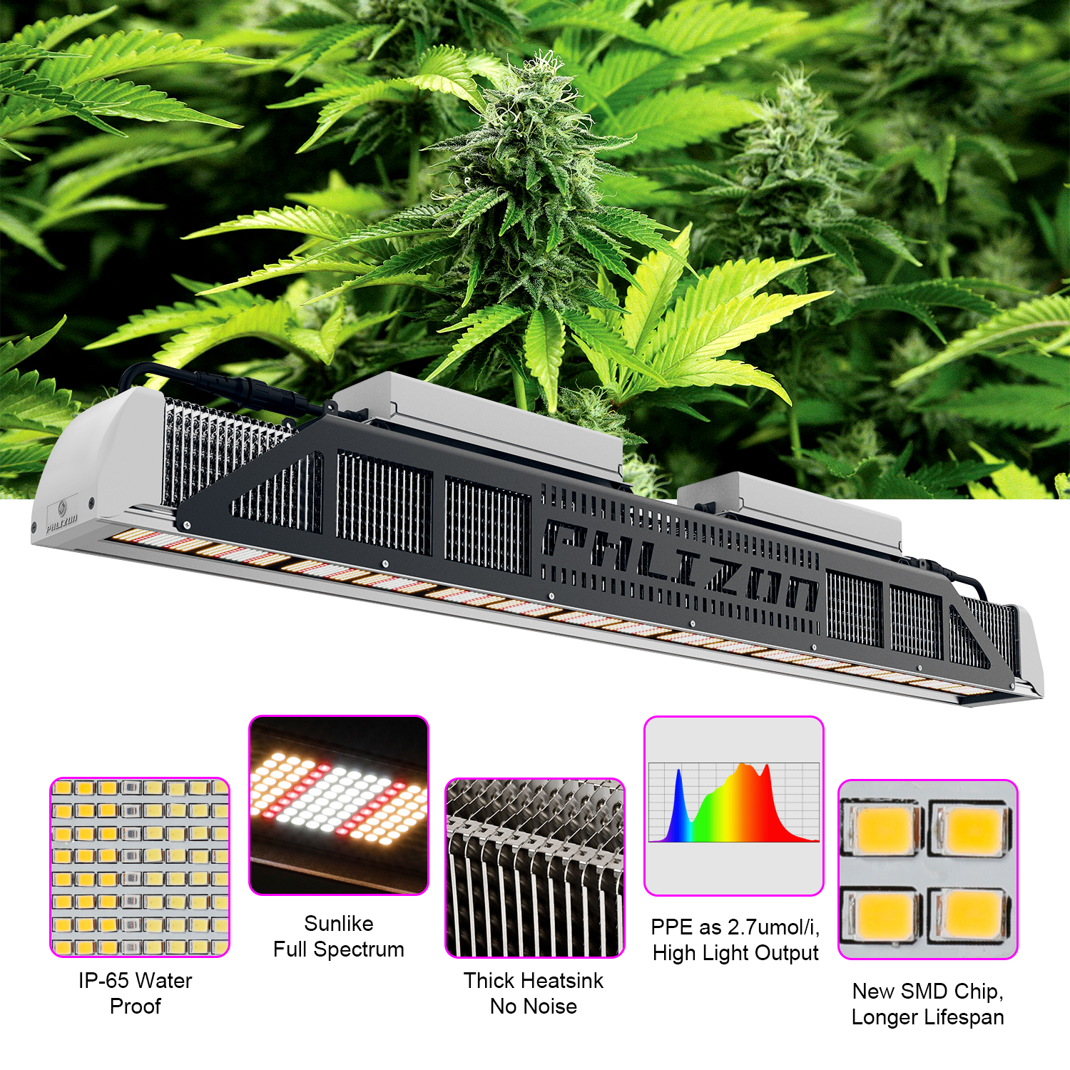 led grow light indoor herb garden