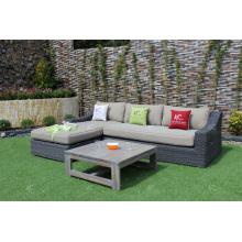Nuevo diseño de moda de moda Modish Diseño sintético de sofá de sofá de ratán de PVC Rattan para el jardín al aire libre Muebles de mimbre de sala