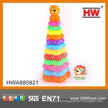 Anel de brinquedo de plástico para crianças