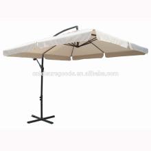Сад патио металлический квадратный напольный консольный зонтик