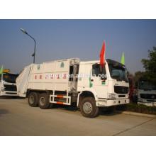 Camion d'ordures de Sinotruk HOWO de commande 6x4 / camion compact d'ordure / camion de poubelle de howo / camion comprimé