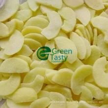 Tranches de pommes surgelées IQF en haute qualité