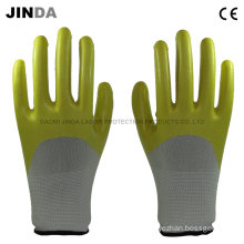 Nitrile Coated Labor Protective Work Gloves (NH001)