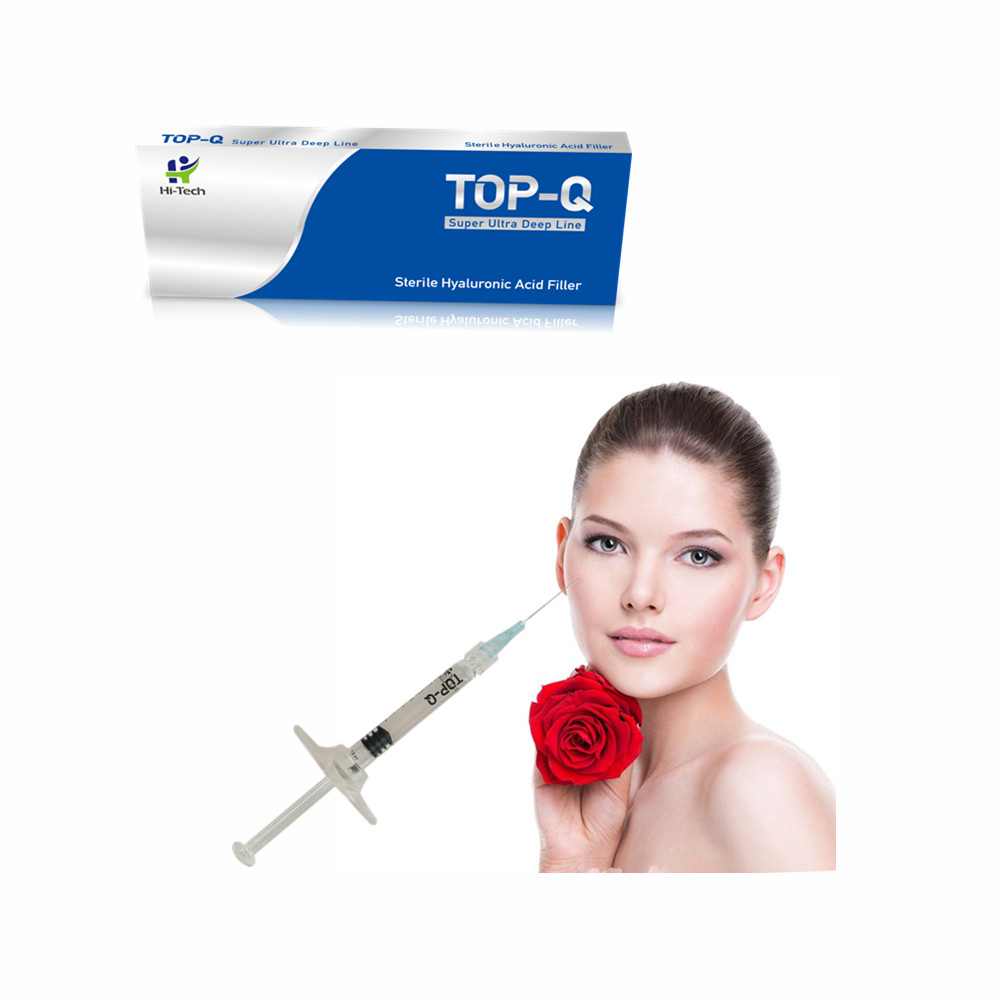 1ml Cross-linked Hyaluronic Acid Dermal Filler For Buttock breast Injection