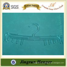 Colgante de alta calidad de plástico transparente mujer sujetador