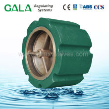 cast iron wafer type silencing industrial pressure check valves