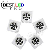 5050 SMD LED Cyan LED 490nm Three Chips