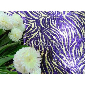 """POLY KNITTING WITH 5MM SEQUIN +DESIGN FOIL 50/52"""""""