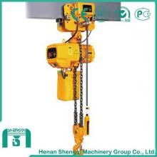Polipasto eléctrico de cadena de 5 toneladas de larga vida útil