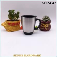 Tasse à café, tasses de voiture, tasse automatique, tasse de voyage en acier inoxydable (SH-SC47)
