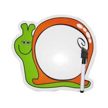 crianças deslizantes móveis crianças desenhos animados fofos (estilo caracol) Placa branca