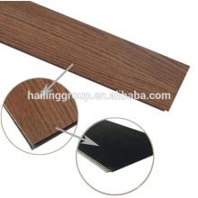 Plancher en vinyle de vente chaude avec système de clic fabriqué en Chine