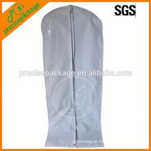 Faltbarer langer Brautkleid mit Reißverschluss