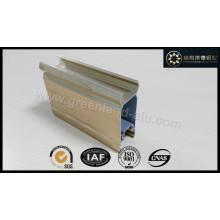 Алюминиевый профиль для раздвижной дверной рамы с электрофоретическим покрытием Цвет древесины
