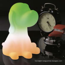 Factory Direct Sales Dog-shaped Color Changing LED Night Light Lamp