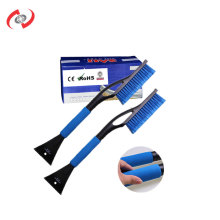 2-In-1 80 CM Long Handle Snow Brush With Soft Bristles And A Double Scraper  Car Detailing Washing Car