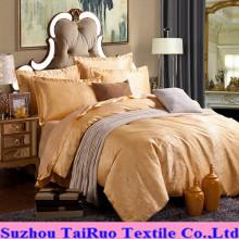 Pongee escovado poliéster 100% para a tela da folha de cama