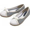 Японский стиль повседневная обувь холст галстук плоские женские туфли