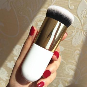 Single Foundation Brush Flat Cream Pinceles de maquillaje
