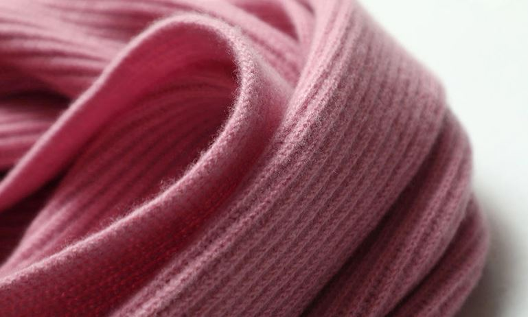 70% Wool 30% Cashmere Knitted Scarf -5