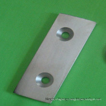 Специальные магниты для ветрогенератора с двумя отверстиями