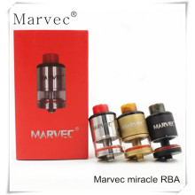 Marvec miracle RTA for vape mod e cigarette