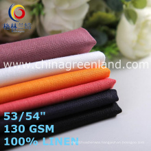 Cotton Linen Fabric for Textile Garments (GLLML466)