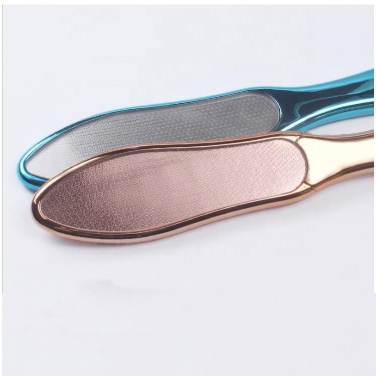 Wholesale OEM Logo Customs Color Plating ABS Handle Nano Glass Foot Files