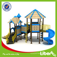 Classic Castle Series China Famous Outdoor Playground Equipment LE-GB012