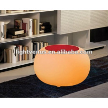 Mesa LED competitiva de polietileno de moda