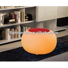 Fashion Polyethylene competitive LED table