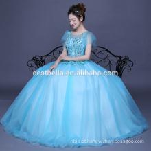 Ruffles Quinceanera Vestidos Vestido de Noiva Vestido de Noiva Vestido de Noiva